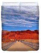 Navajo Bridge Duvet Cover by Dan Sproul