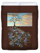 Neither Praise Nor Disgrace Duvet Cover by James W Johnson