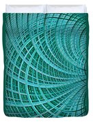Network Duvet Cover by John Edwards