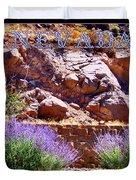 Nevada Duvet Cover by Bobbee Rickard