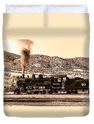 Nevada Northern Railway Duvet Cover by Robert Bales