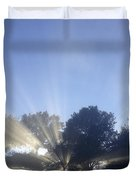 New day Duvet Cover by Les Cunliffe