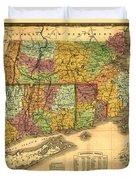 New England Duvet Cover by Gary Grayson