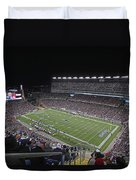 New England Patriots and Tom Brady Duvet Cover by Juergen Roth
