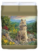 New Generation Duvet Cover by Lucie Bilodeau