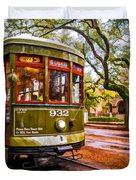 New Orleans Classique Oil Duvet Cover by Steve Harrington