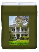 New Orleans Frat House Duvet Cover by Steve Harrington