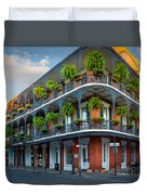 New Orleans House Duvet Cover by Inge Johnsson