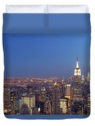 New York City Duvet Cover by Juergen Roth