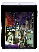 New York City Duvet Cover by Mike McGlothlen