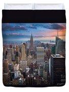 New York New York Duvet Cover by Inge Johnsson