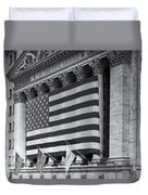New York Stock Exchange Iv Duvet Cover by Clarence Holmes