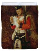 News From Home Duvet Cover by Sir John Everett Millais