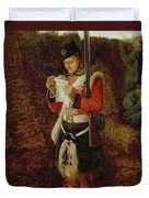 News From Home Duvet Cover by Sir John Everett Millais