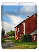 Newtown Barn Duvet Cover by Bill  Wakeley
