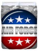 Nice Air Force Shield 2 Duvet Cover by Pamela Johnson
