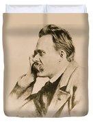 Nietzsche Duvet Cover by Anonymous