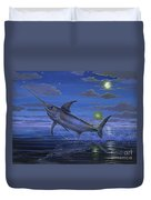 Night Bite Off0066 Duvet Cover by Carey Chen