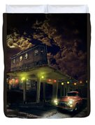 Night Fill Duvet Cover by Nathan Wright