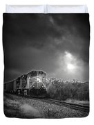 Night Train Duvet Cover by Robert Frederick