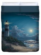 Night Watch Duvet Cover by Kyle Wood