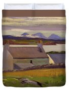 Nightfall  Iona Duvet Cover by Francis Campbell Boileau Cadell