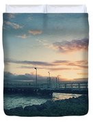 Nights Like These Duvet Cover by Laurie Search