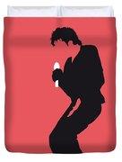 No032 MY MICHAEL JACKSON Minimal Music poster Duvet Cover by Chungkong Art