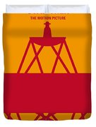 No081 My Star Trek 1 Minimal Movie Poster Duvet Cover by Chungkong Art