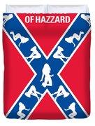 No108 My The Dukes Of Hazzard Movie Poster Duvet Cover by Chungkong Art