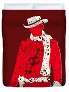 No184 My Django Unchained minimal movie poster Duvet Cover by Chungkong Art