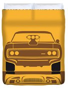 No207 My The Fast And The Furious Minimal Movie Poster Duvet Cover by Chungkong Art