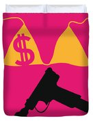 No218 My SPRING BREAKERS minimal movie poster Duvet Cover by Chungkong Art