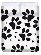 No229 My 101 Dalmatians Minimal Movie Poster Duvet Cover by Chungkong Art