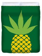 No264 My Pineapple Express Minimal Movie Poster Duvet Cover by Chungkong Art