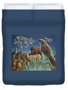 Nocturnal Cantata Duvet Cover by James W Johnson