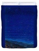 Nocturnal Landscape Duvet Cover by Francois-Louis Schmied