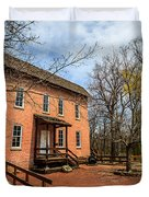 Northwest Indiana Grist Mill Duvet Cover by Paul Velgos