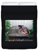 Now I Lay Me Down... Duvet Cover by Brian Wallace
