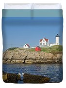 Nubble In The Day 16x20 Duvet Cover by Geoffrey Bolte