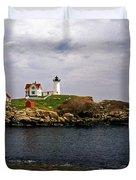 NUBLE LIGHTHOUSE Duvet Cover by Skip Willits
