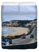 Oc On Pch In Ca Duvet Cover by Jennie Breeze