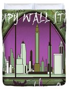 Occupy Wall Street - We are the 99 percent Poster Duvet Cover by Art America - Art Prints - Posters - Fine Art