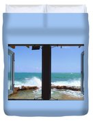 Ocean View Duvet Cover by Carey Chen