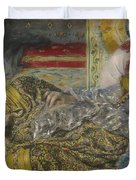 Odalisque Duvet Cover by Pierre Auguste Renoir
