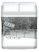 Off Season Duvet Cover by Ann Horn