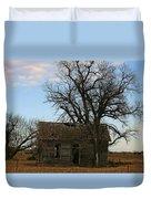 Oklahoma Shack Duvet Cover by Ellen Henneke