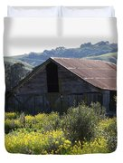 Old Barn In Sonoma California 5d22232 Duvet Cover by Wingsdomain Art and Photography
