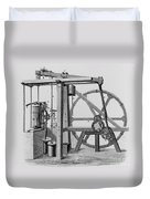 Old Bess Steam Engine Duvet Cover by SPL and Science Source