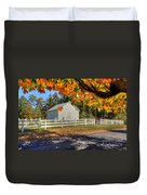 Old Bethel Church 1842 Duvet Cover by Dan Friend